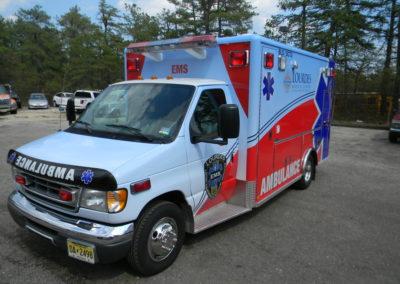 Ambulance-Lourdes