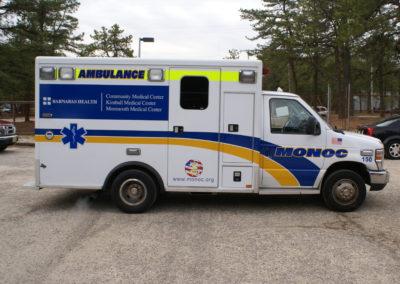 Ambulance graphics, ambulance wrap