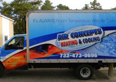 Box Truck Wrap- Air Concepts