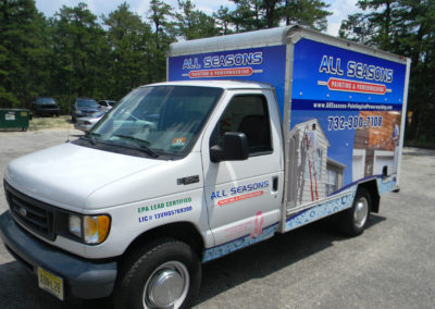 Box Truck Wrap- All Seasons Painting