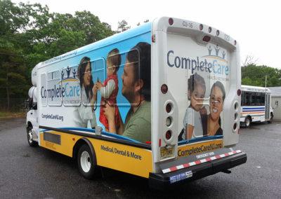 Bus Wrap-Complete Care
