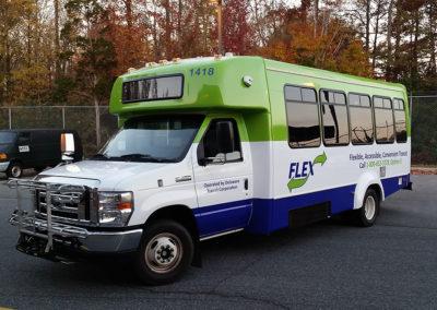Bus Wrap-Dart Flex