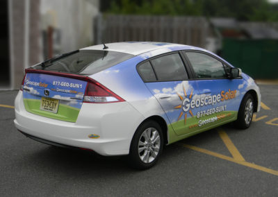 Car Wrap- Geoscape Solar