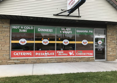 Storefront- Lindas Pizza