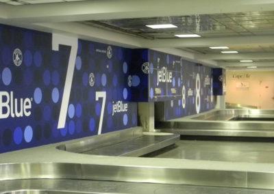 Wall Mural- Jet Blue2