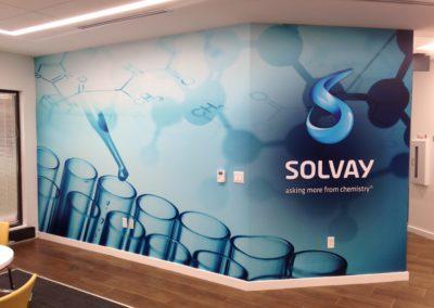 Wall Mural-Solvay