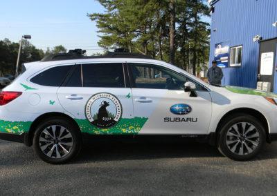 Car Wrap- Subaru