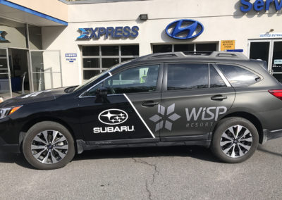 Car Wrap- Subaru2